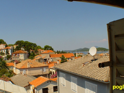 Pogled s tavana / View from the attic