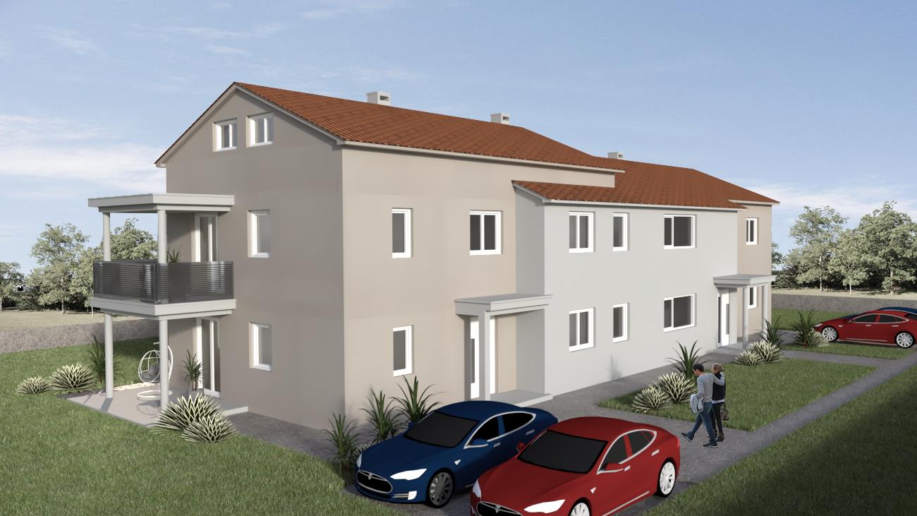 Poreč, neue Wohnung zum Verkauf