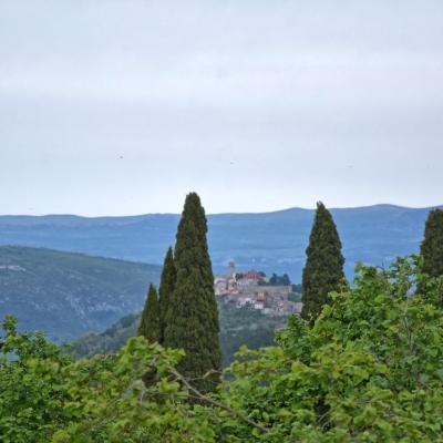 Građevinsko zemljište u središnjoj Istri, 837 m2
