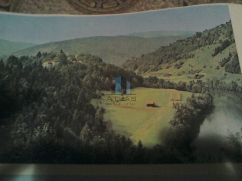 Gorski kotar, teren uz Kupu za kamp