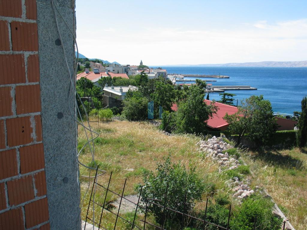 Karlobag, kuća u roh bau fazi izgradnje