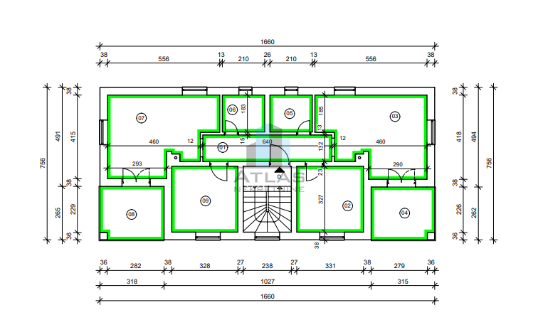 Malinska - Porat, 100 m2