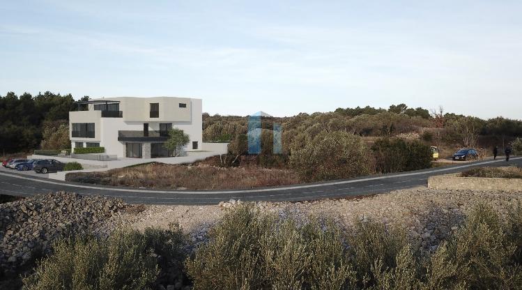 Krk, luksuzni stan s vrtom i bazenom, 3s+db, 113,54 m2