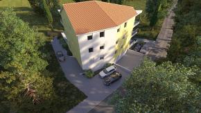 Srdoči, 2S+DB, 1. kat, novogradnja, garaža!