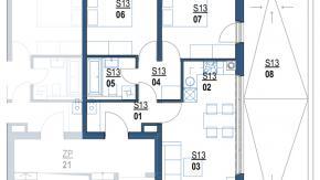 Zagreb, Borongaj, novogradnja, stan pov. 69,20 m2 + garaža