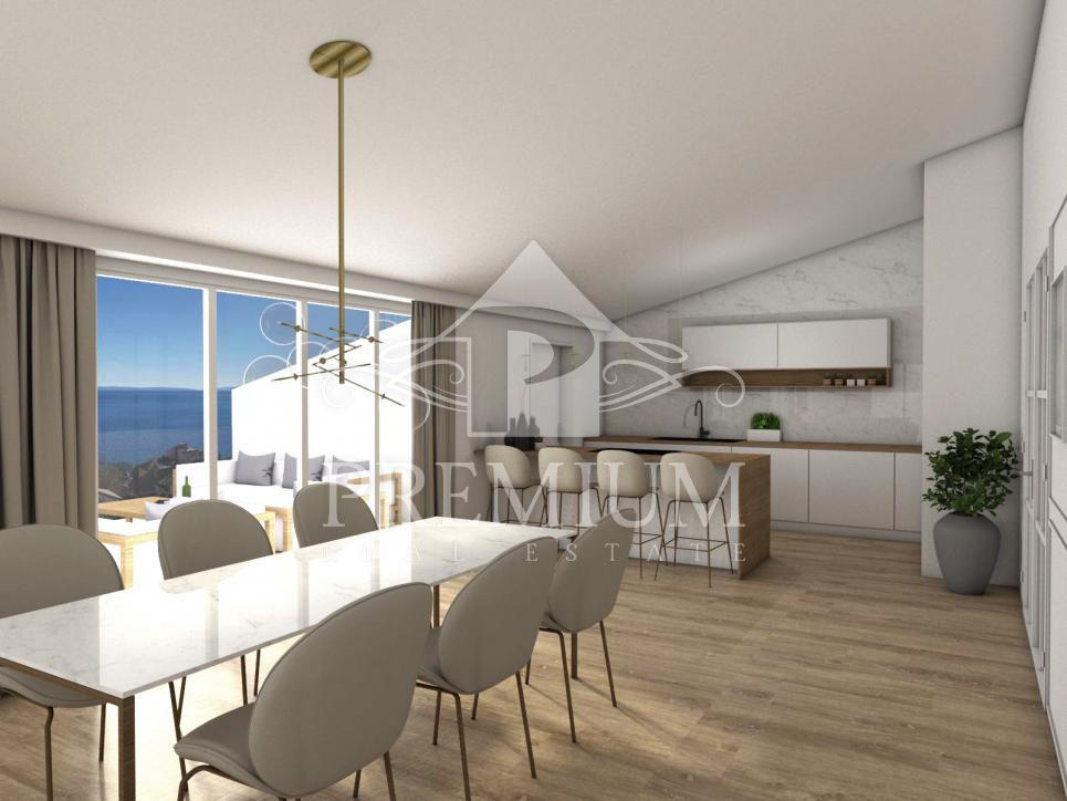 PENTHOUSE IN A MODERN NEW BUILDING, 123 m2, CENTER, GARAGE