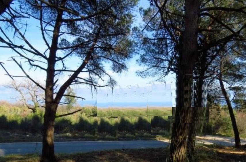 Nekretnine u Istri, Labin-Rabac, građevinsko zemljište s pogledom na more