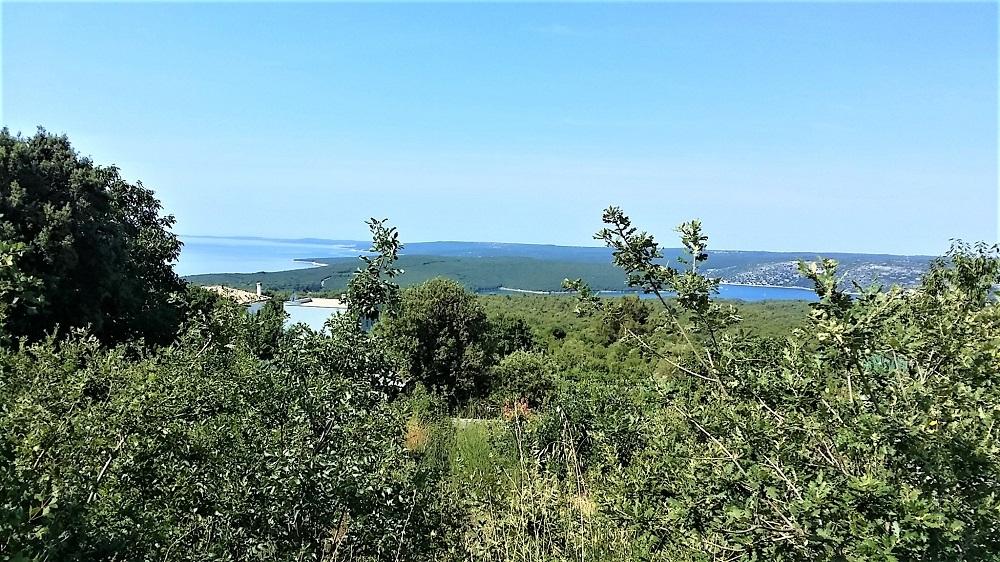Nekretnine u Istri,Labin - Rabac, građevinsko zemljište s pogledom na more