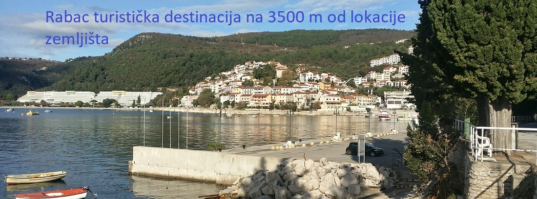 Grundstück Labin, 1.935m2