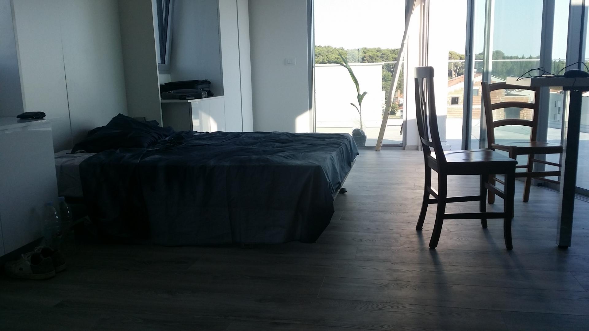 Nekretnine Istra, Rovinj, stan s pogledom na more u blizini plaže