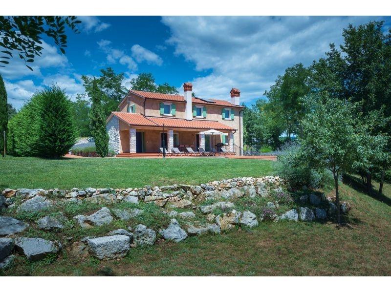 Istra, Labin(Rabac) okolica, kuća s bazenom
