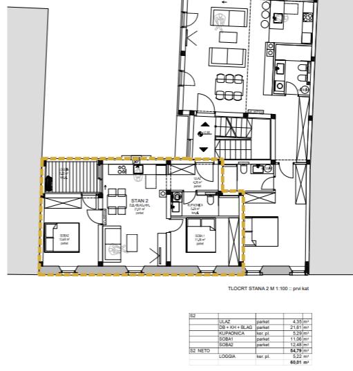 Flat Opatija - Centar, Opatija, 70m2