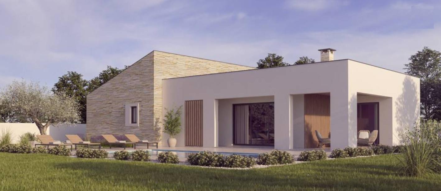 Istra, Labin, Nedešćina, kuća sa bazenom za turizam