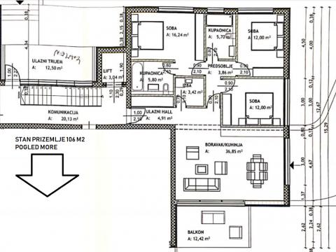 Apartment Rovinj, 106m2