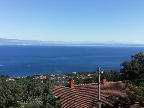 Nekretnine u Istri, Lovran građevinsko zemljište s pogledom na more