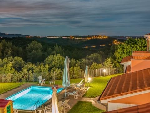 Dvojna kuća sa bazenom, Istra, Labin-Rabac