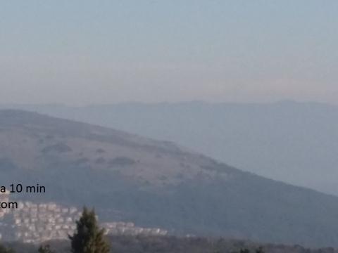 Istra, Labin-Rabac, građevinsko zemljište 7 km od mora
