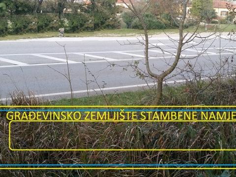 Grundstück Kršan, 2.700m2