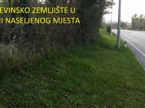 Istra, građevinsko zemljište u blizini naselja