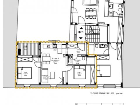 Wohnung Opatija - Centar, Opatija, 70m2