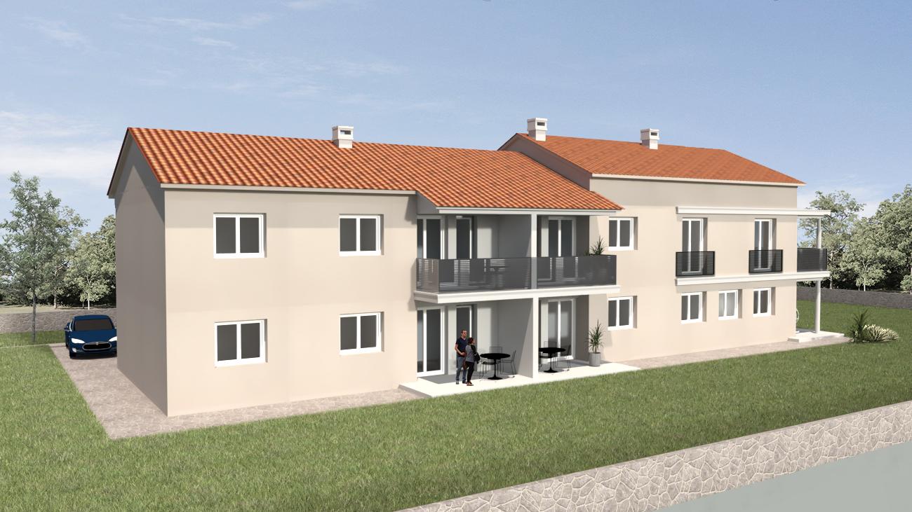 Poreč, new apartment for sale