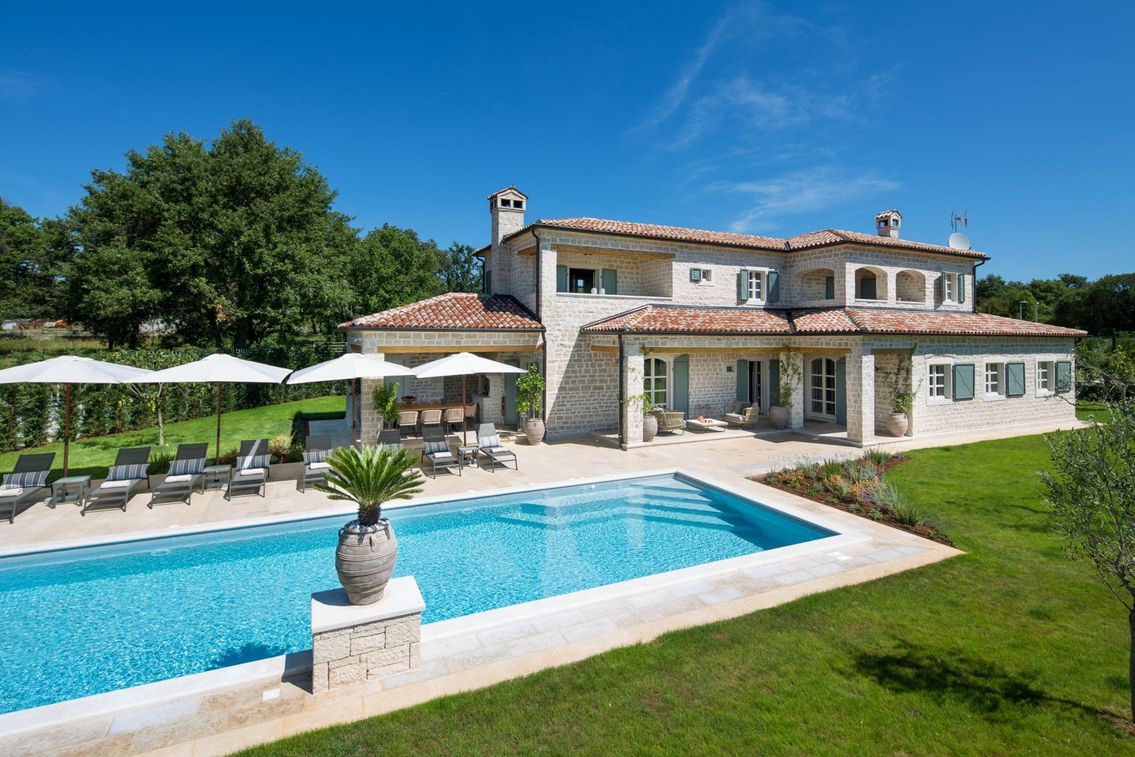 Luksuzna kamena vila u srcu Istre - Villa Nevia