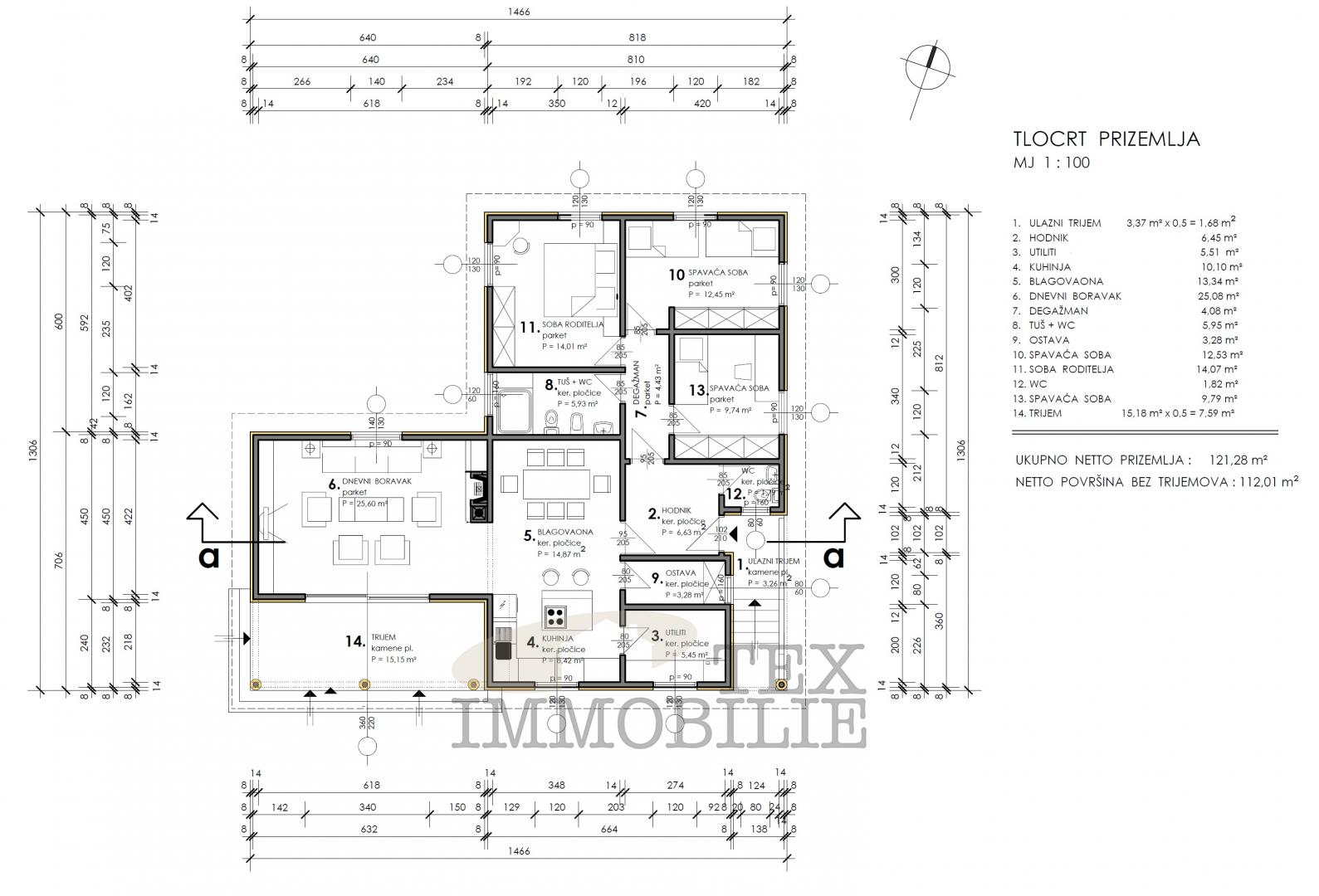 Hiša Rovinj, 181m2