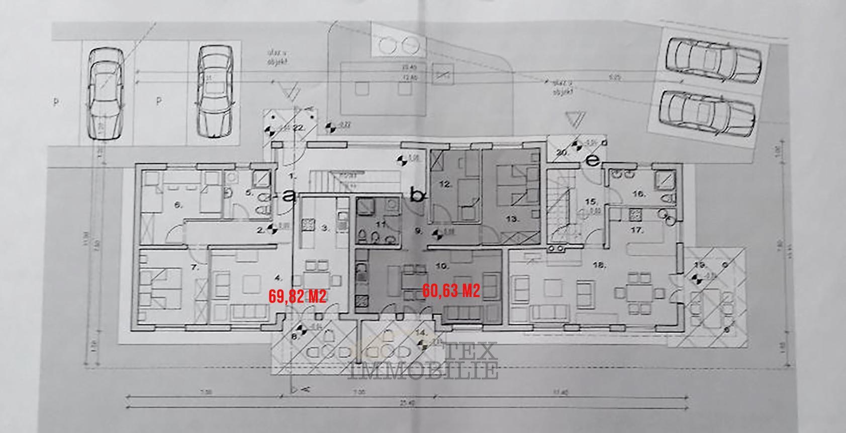 Poreč, novi stan u prizemlju zgrade