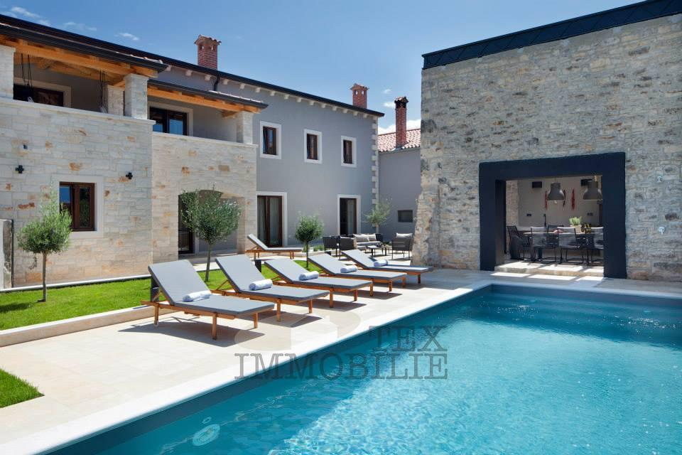 Die moderne Villa mit Pool, 15 km vom Zentrum von Porec