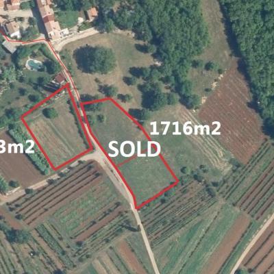Građevinsko zemljište u okolici Karojbe