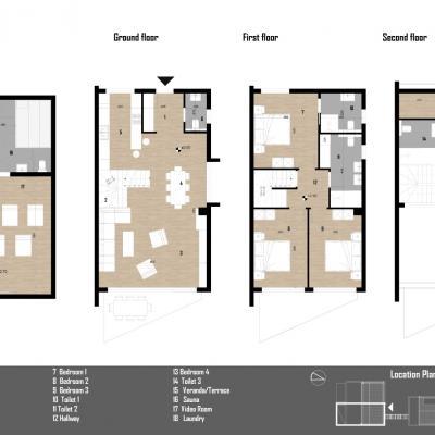 Rezidencijalne vile 70 m od mora u Poreču - B5