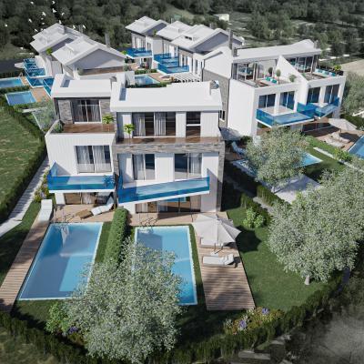 Rezidencijalne vile 70 m od mora - B1